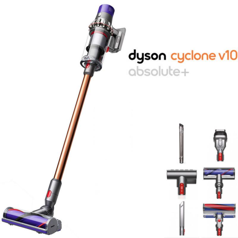 Dyson Cyclone V10 Absolute+ 無線吸塵機 [英國版][附彈性縫隙吸頭] 連支架