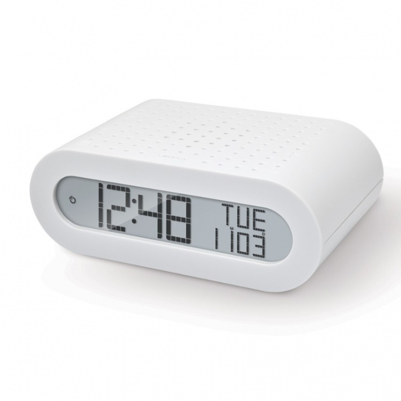 Classic Alarm Clock with Radio RRM116 簡約鬧鐘收音機(藍色)