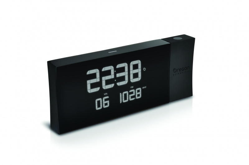 PRYSMA G 稜光收音機投影時計Projection Clock [黑色、緑色] RRA222PNH/GR RRA222P/BK