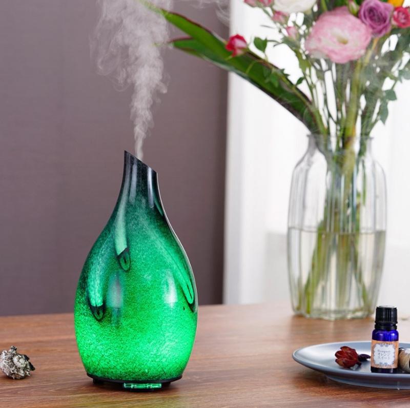 Oregon Scientifc星雲手工玻璃香薰機 The Nebula Glass Aroma Diffuser HWI0003/BK