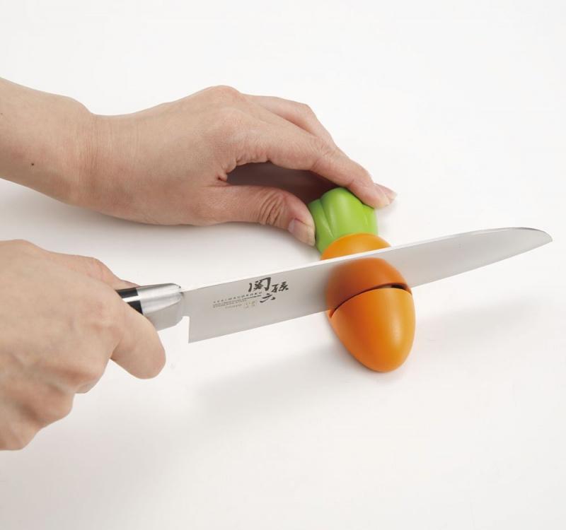 貝印 可愛胡蘿蔔磨刀器