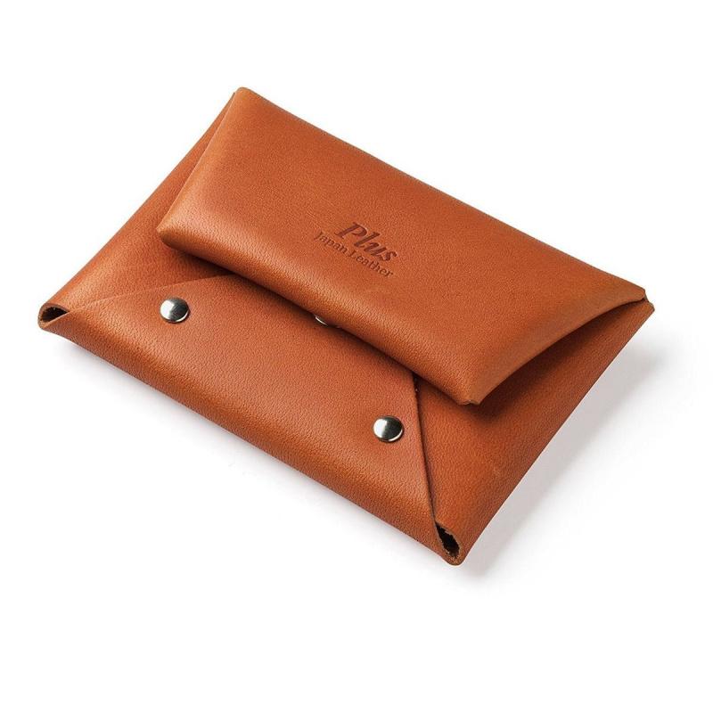 Plus 栃木皮革銀包 [3色]