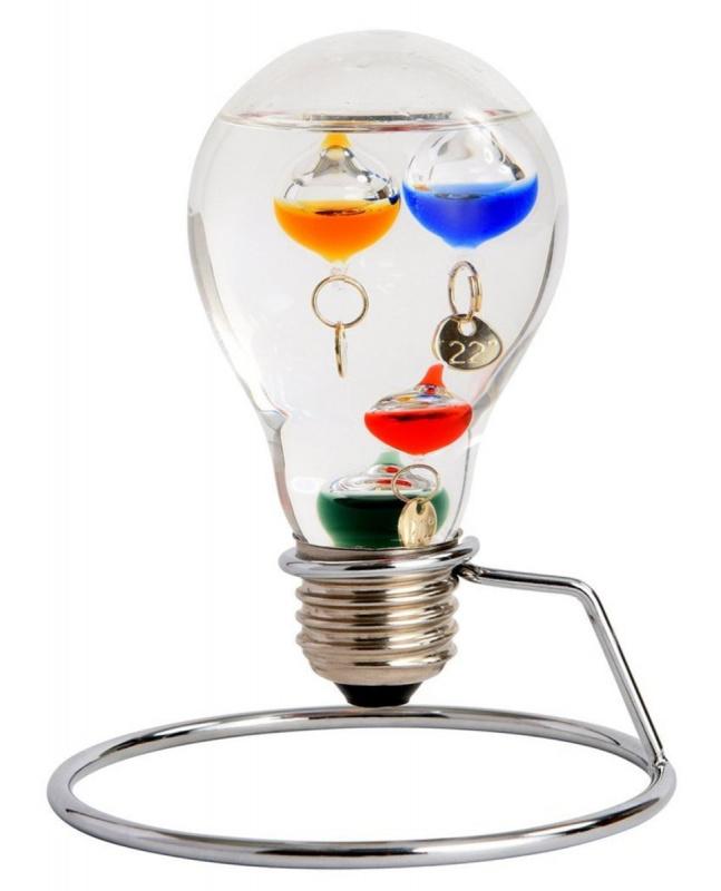 茶谷産業 浮法玻璃伽利略溫度計燈泡