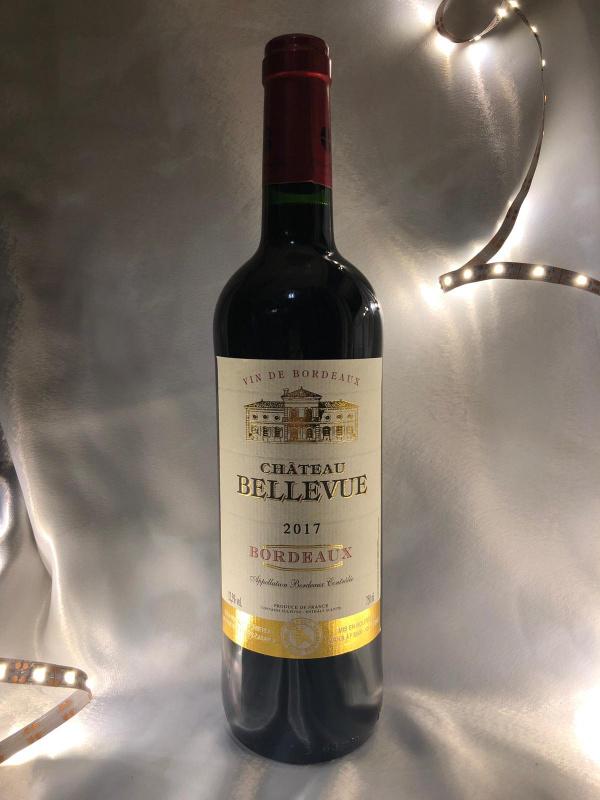Chateau Bellevue 2017 婚宴紅白酒 750ml