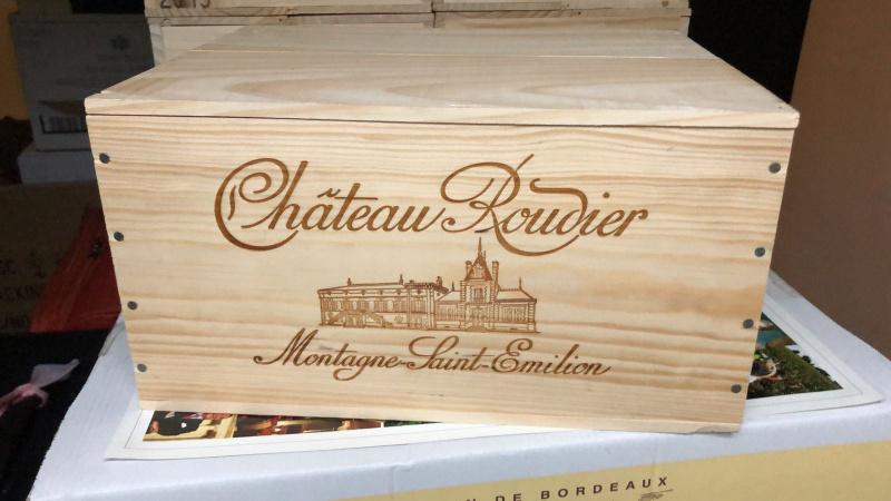 Chateau Roudier 2015 聖美倫木箱紅酒 750ml