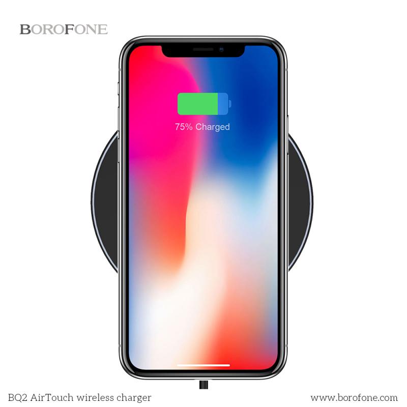 Borofone BQ2 AIRTOUCH 10W 無線充電器[2色]