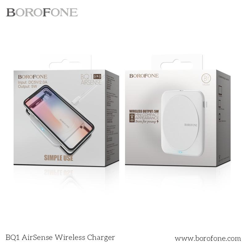 Borofone BQ2 AIRTOUCH 5W 無線充電器[2色]