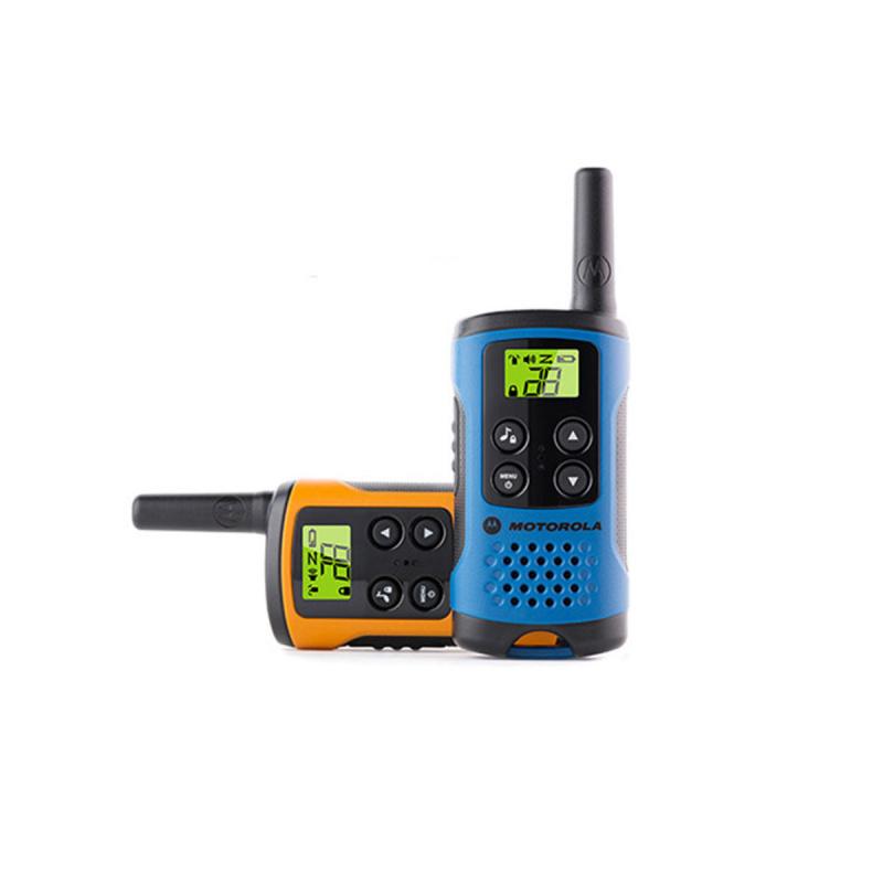 Motorola TLKR T40 對講機孖裝 (藍色+橙色)