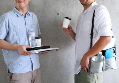 日本abrAsus SUPER CONSUMER 貼身斜揹袋