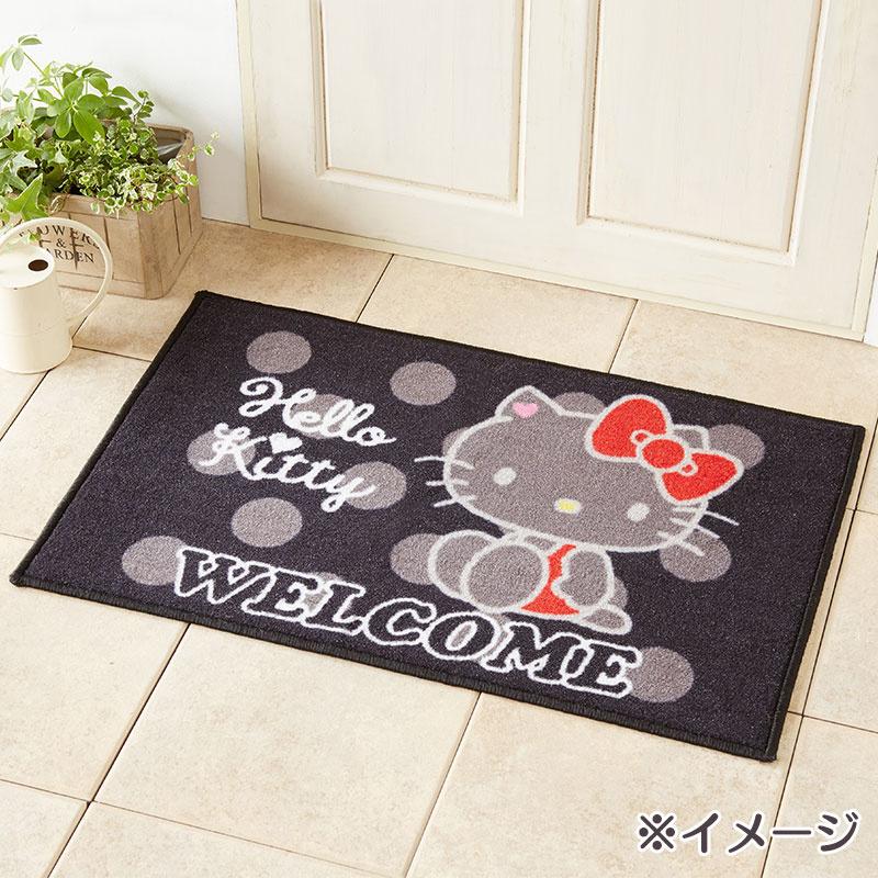 日本SARNIO Hello Kitty 可愛玄關地毯