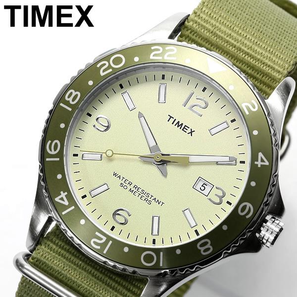 Timex T2P035 Men's Sport男裝尼龍帶復古小軍錶