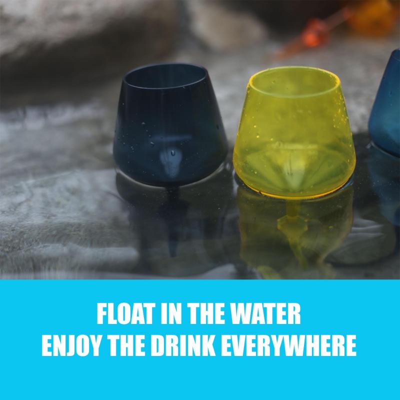 船P必備- 可浮式酒杯,Floating Wine Glass
