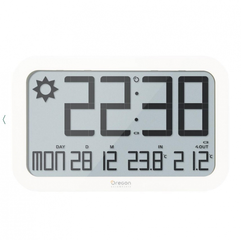 Jumbo Weather Wall Clock JW108-BK 珍寶時計(黑色)