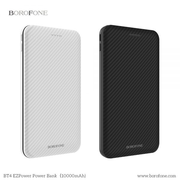 Borofone 輕薄內置充電線移動電源 5000/10000mAh [2色]