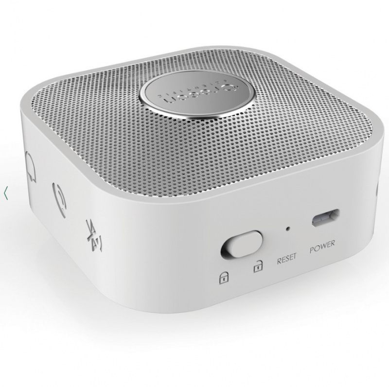 Travel Speaker with Dream Sience Music CP100 智能旅行藍芽音樂酣睡時鐘 - 白色