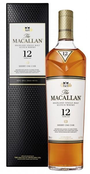 Macallan 麥卡倫12年 雪利桶威士忌 700ml