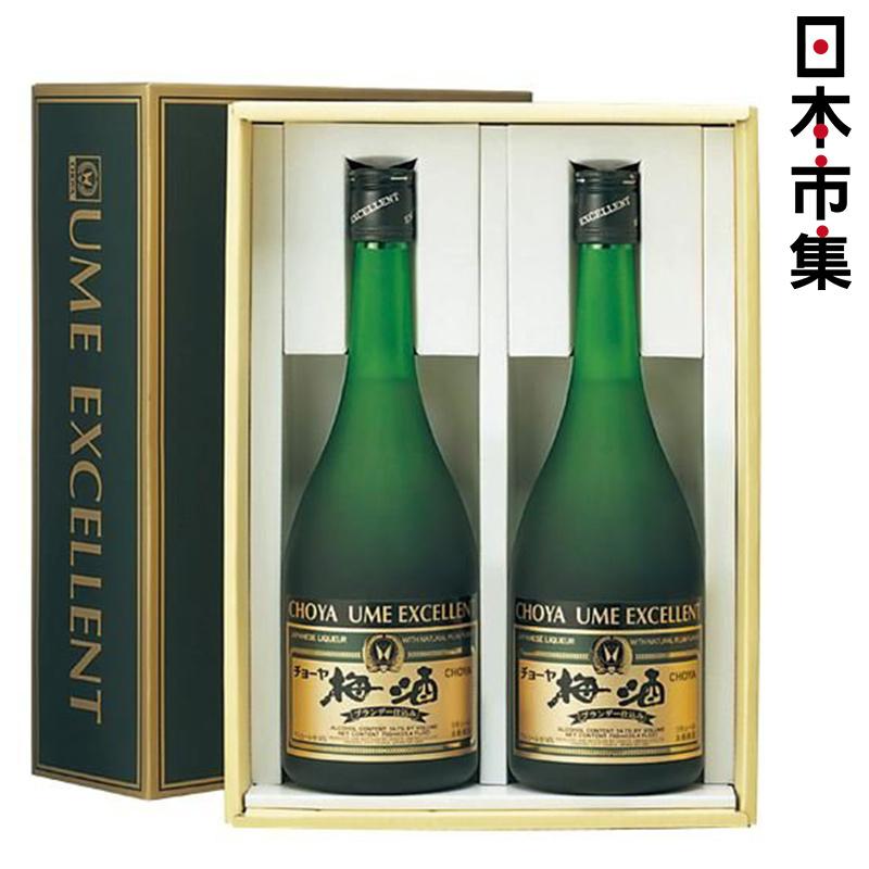 日版 Choya 至尊梅酒 750ml [2支禮盒裝]