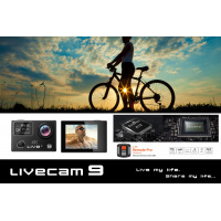 LIVECAM 9 WITH NATIVE 4K 真4K運動相機