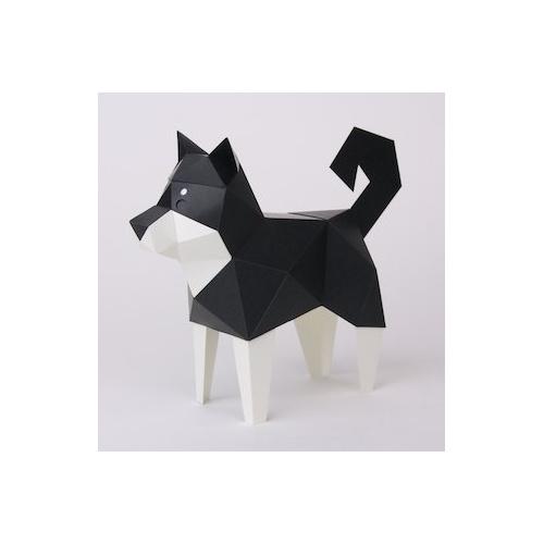 日本Kakukaku Tiny手工動物摺紙玩具立體紙藝紙板手工DIY製作模型