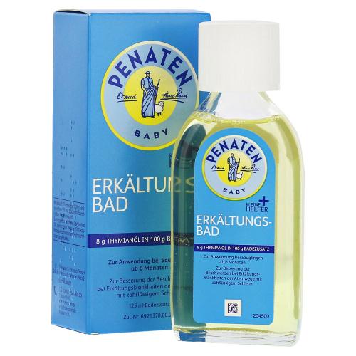 Penaten Erkältungsbad 嬰兒感冒沐浴油 [125ml]