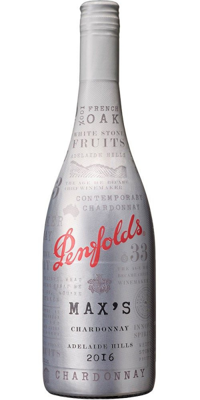 Penfolds Max's Chardonnay White Wine Screw 2016 白酒 - 12371122