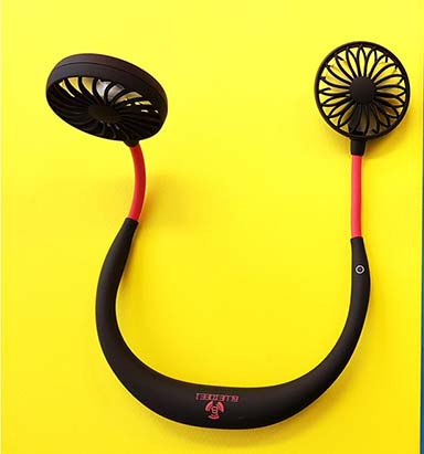 BLUEIDEE 便攜USB充電掛頸式風扇 [2色]