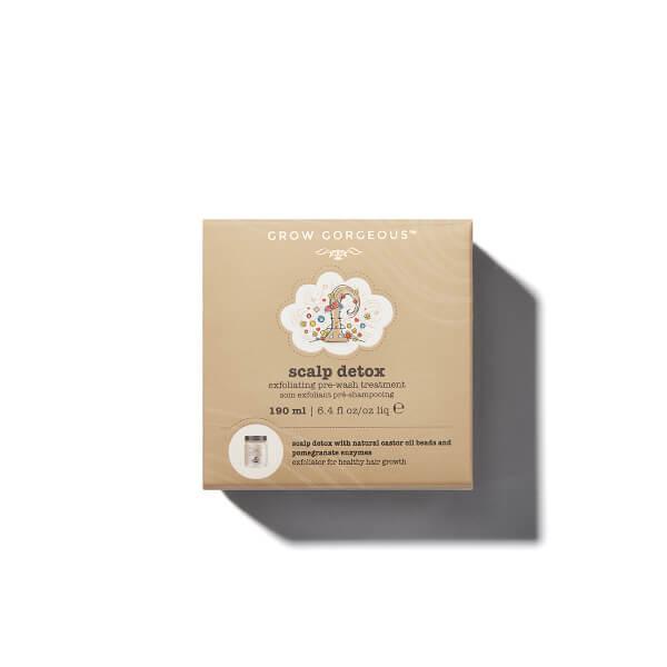 Grow Gorgeous Scalp Detox Exfoliating Pre-Wash Treatment 專業頭皮淨化去油磨砂膏 (190ml)