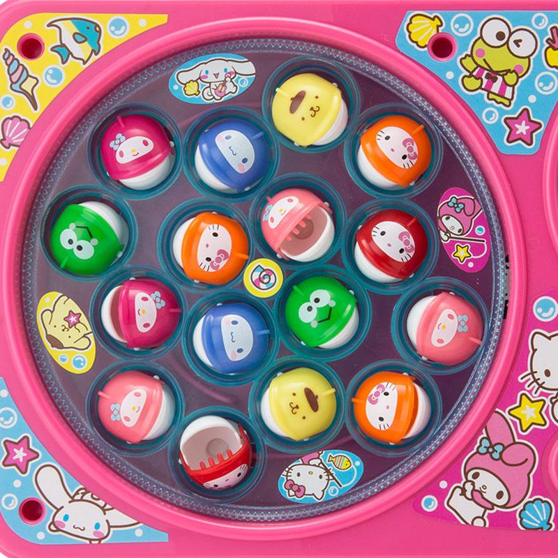 Sanrio Hello Kitty 釣魚玩具