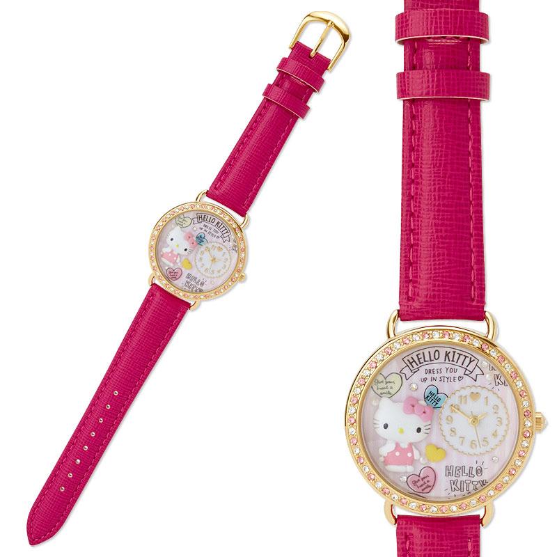 Sanrio Hello Kitty 手錶 [2色]