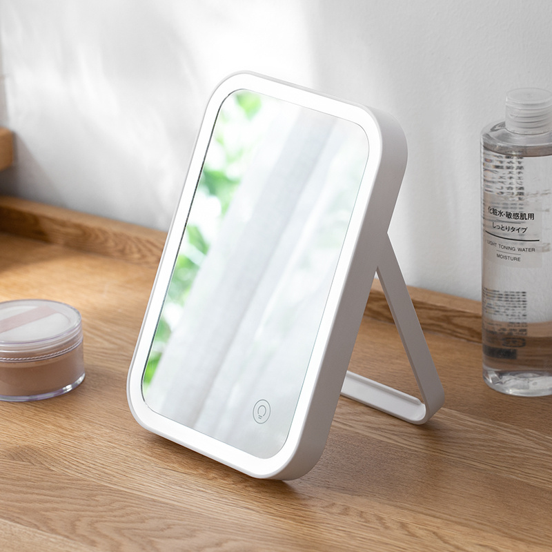 LED充電摺疊化妝鏡