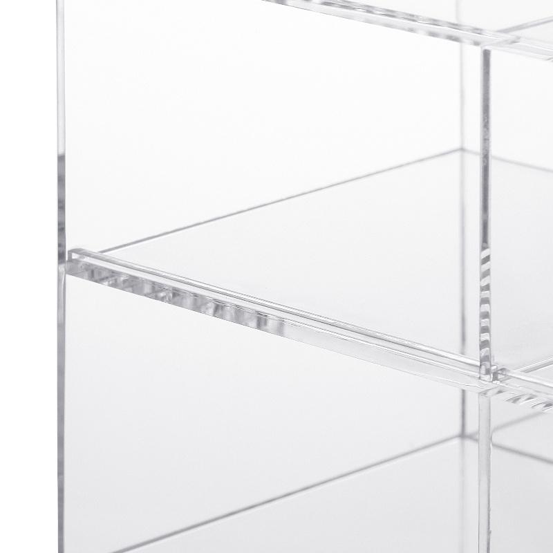 可旋轉多層間隔化妝品收納盒