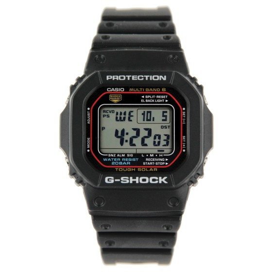 G-SHOCK 經典戶外電波太陽能5600系列 GW-M5610-1