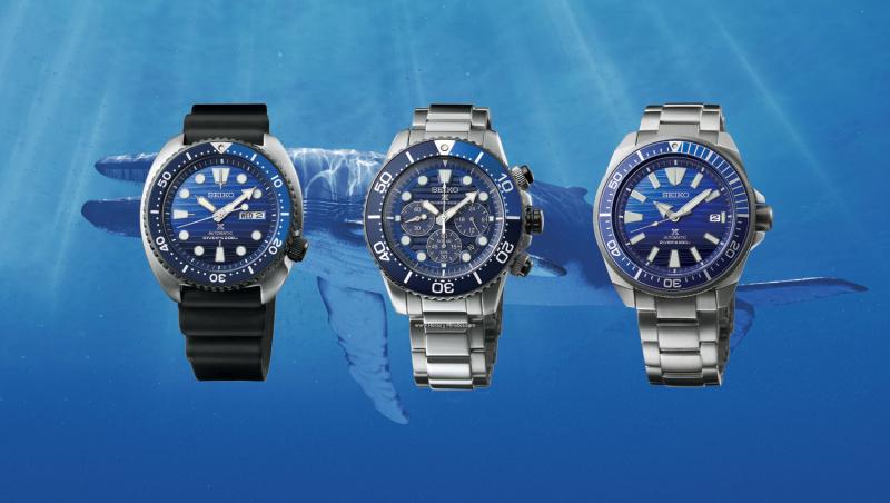 Seiko PROSPER 最新「Save the Ocean」愛海洋 別注版限量款 太陽能腕錶 SSC675P1