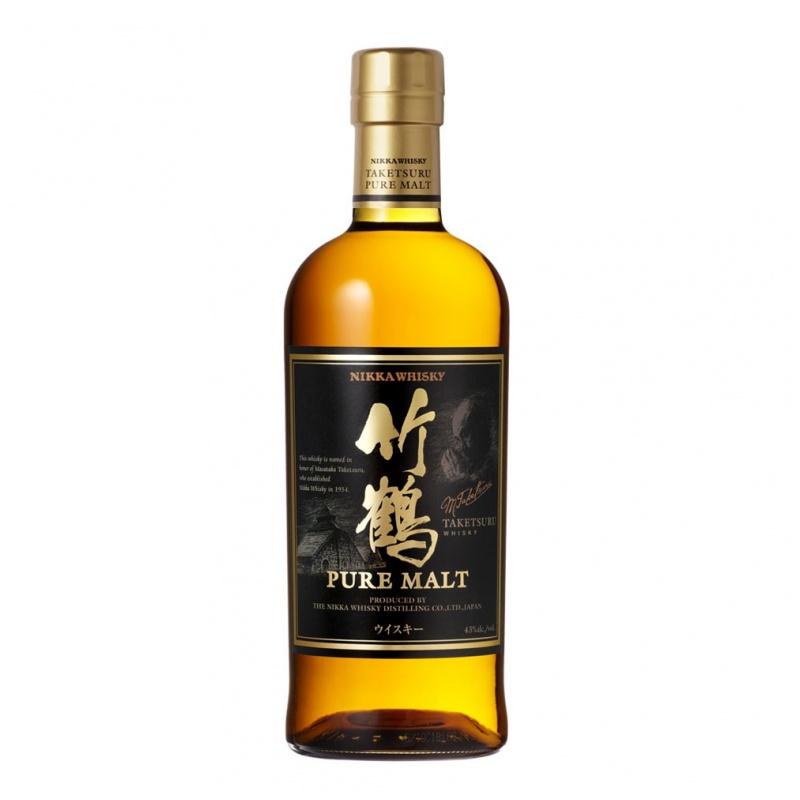 竹鶴純麥芽威士忌 Nikka Taketsuru Pure Malt NAS 700mL
