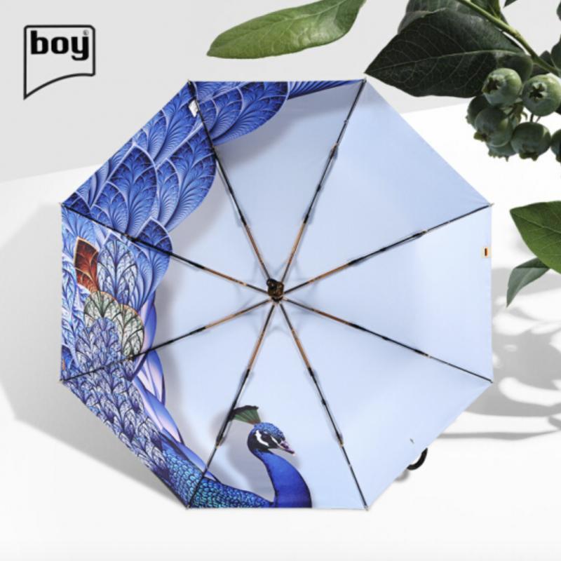 boy 三折防曬晴雨傘 (霓凰)