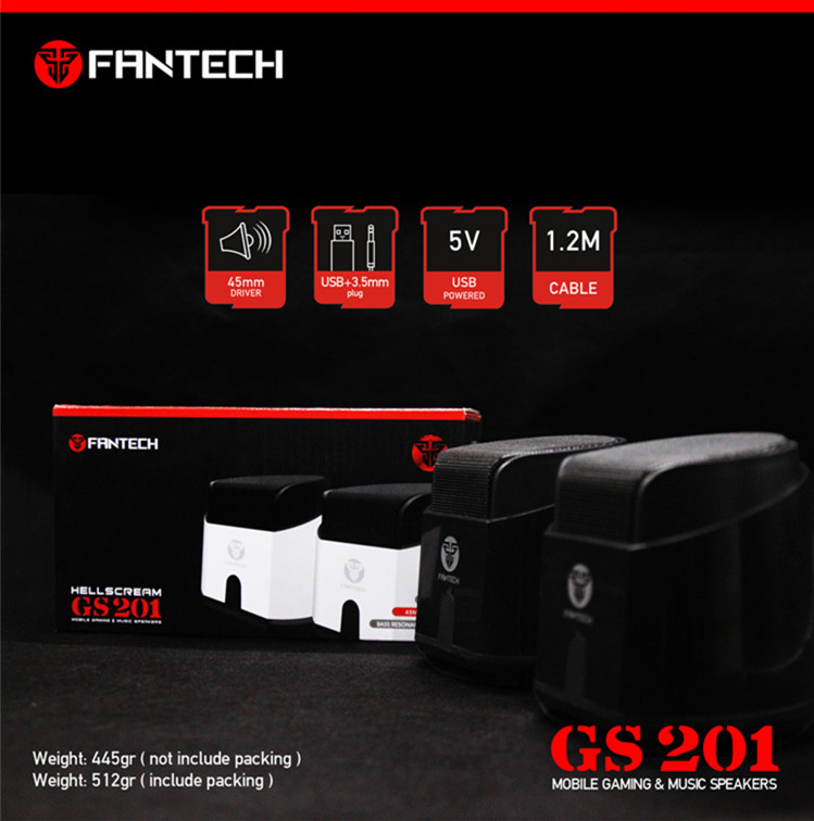 Fantech GS-201 Mini SpeakerUSB電腦喇叭