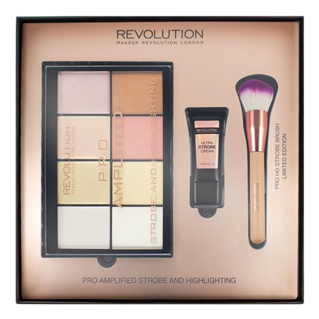 Make up Revolution Amplified Strobe & Highlighting 專業化妝經典禮盒