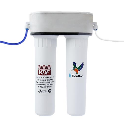 香港行貨 Doulton HIP-2 (EWC BTU) 海星二號(EWC 白金離子) M12 系列 櫥下式濾水器 附送 M12, EWC 濾芯