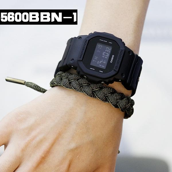 Casio G-SHOCK   DW-5600BBN-1 (一年保養)
