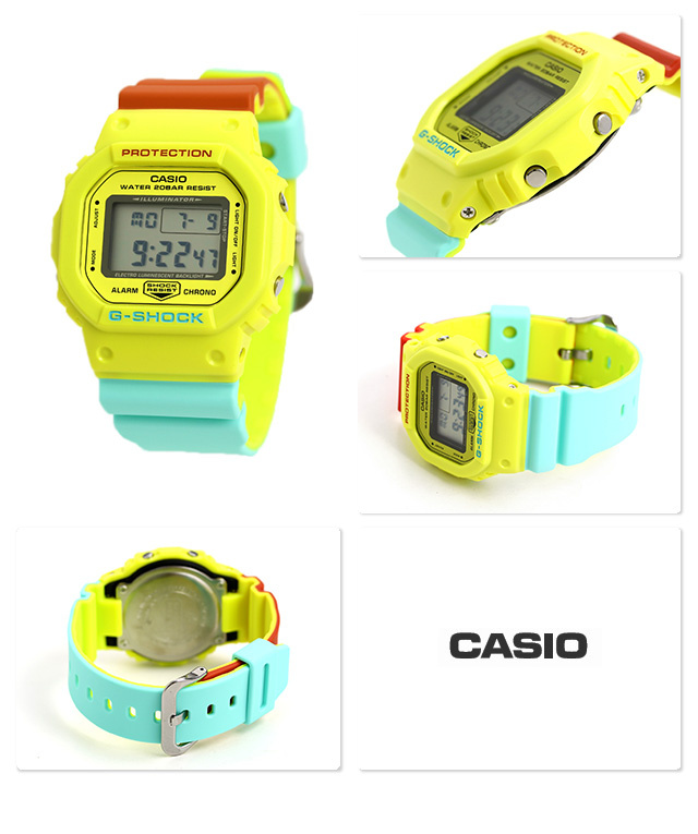 Casio G-SHOCK   DW-5600CMA-9DR (一年保養)
