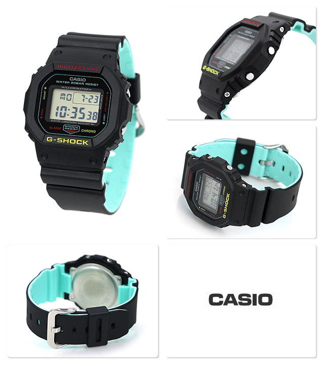 Casio G-SHOCK   DW-5600CMB-1DR (一年保養)