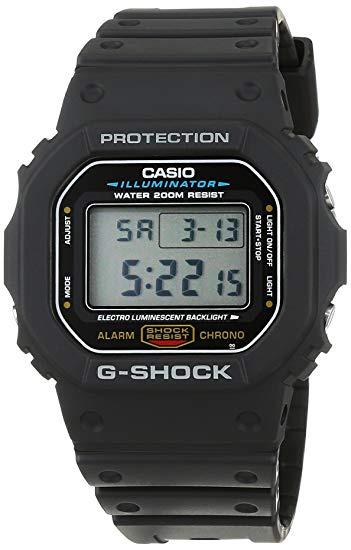 Casio G-SHOCK   DW-5600E-1VDR (一年保養)