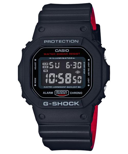 Casio G-SHOCK   DW-5600HR-1DR (一年保養)