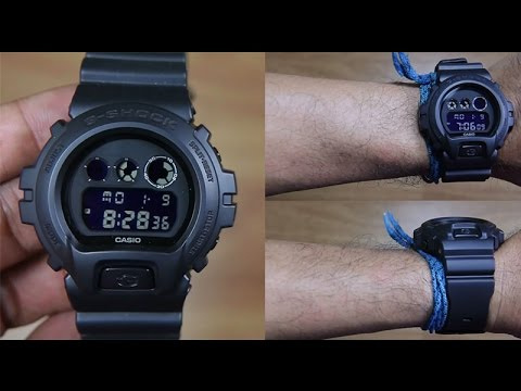 Casio G-SHOCK   DW-6900BB-1DR (一年保養)