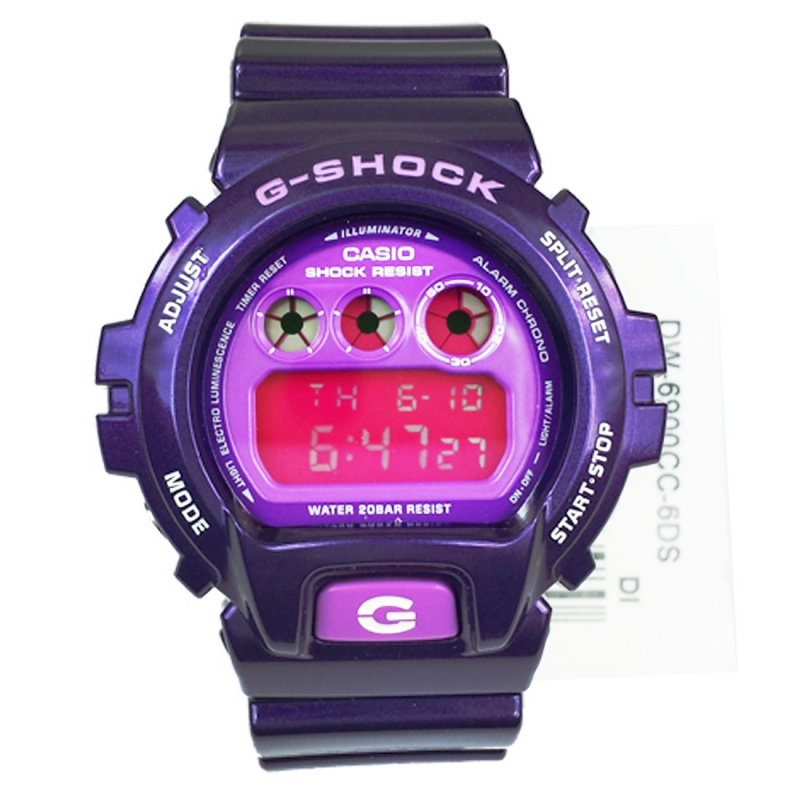 Casio G-SHOCK   DW-6900CC-6DR (一年保養)