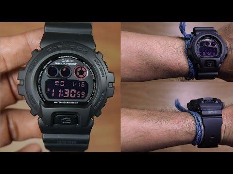 Casio G-SHOCK   DW-6900MS-1DR (一年保養)