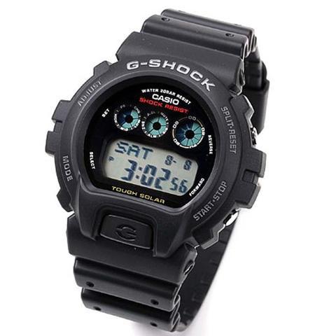 Casio G-SHOCK   G-6900-1DR (一年保養)(太陽能)