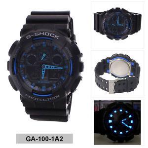 Casio G-SHOCK   GA-100-1A2DR (一年保養)