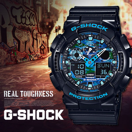 Casio G-SHOCK   GA-100CB-1ADR. (一年保養)