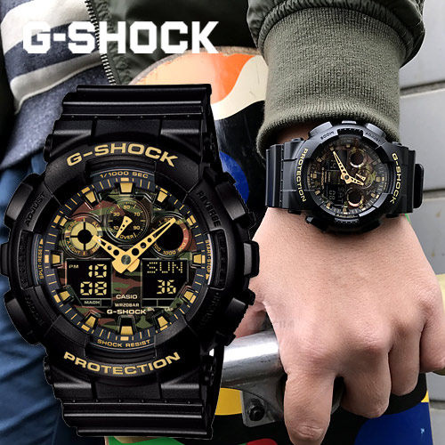Casio G-SHOCK   GA-100CF-1A9DR (一年保養)